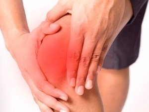 Сильная боль колено