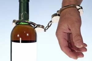 Наручники и алкоголь
