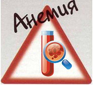 Осложнения анемии