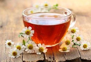 чай с ромашкой для детей