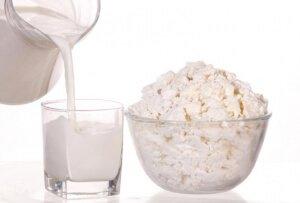 Молочные продукты при гастрите