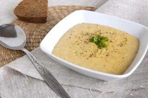 Легкие супы при гастрите