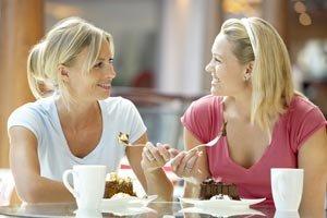 Разговор во время еды