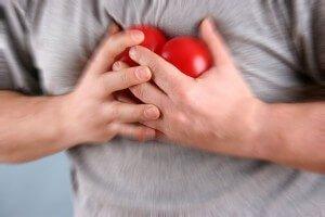 Сердце в руках мужчины