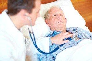 Инвалид в постели