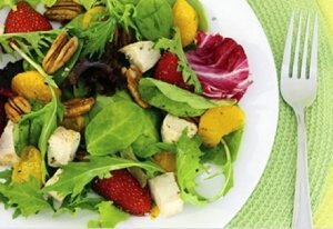 Салат с зеленью