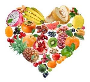 Овощи и фрукты при снижении холестерина