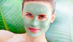 Зеленая маска