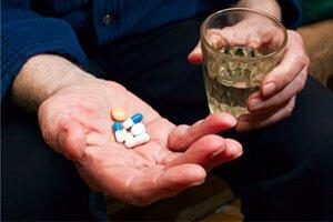 Лекарства на ладони