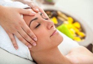 Массаж лица для сухой кожи