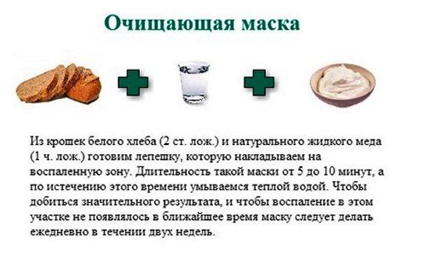 Рецепт маски