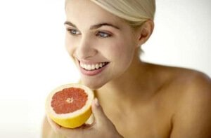 Полезный фрукт для кожи