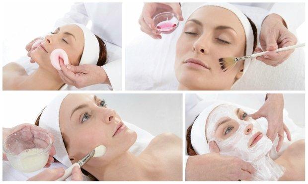 Косметические процедуры в салоне красоты
