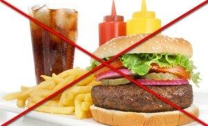 Запрещенные продукты после удаления желчного