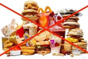 Запрещенные продукты при язвенной болезни желудка