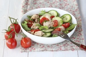 Тарелка салата