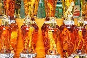 Корни в бутылях