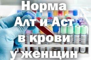 Норма АЛТ и АСТ