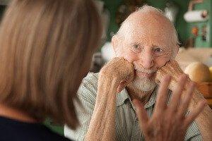 Деменция у мужчины