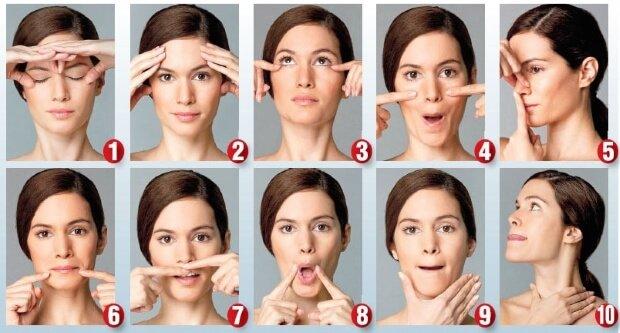 Гимнастика для лица Эмма Харди