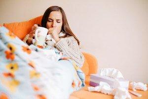 Малиновый чай при простуде