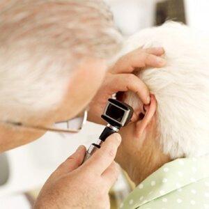 Проверка ушных раковин