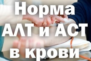 Норма АЛТ и АСТ в крови
