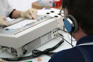 Аудиометрический метод проверки слуха