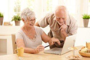 счастливые пожилые