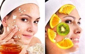 Фруктовая маска для сухой кожи