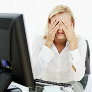 Влияние работы за компьютером на глаза