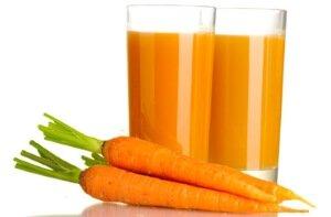Морковный сок для глаз