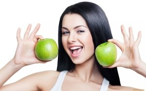 Полезное для кожи питание