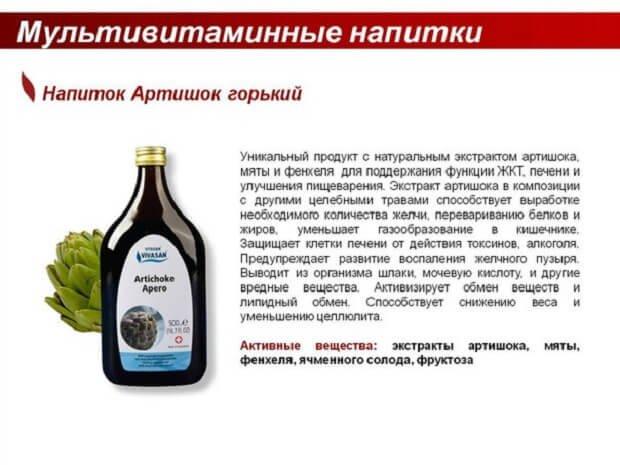 Мультивитаминные напитки