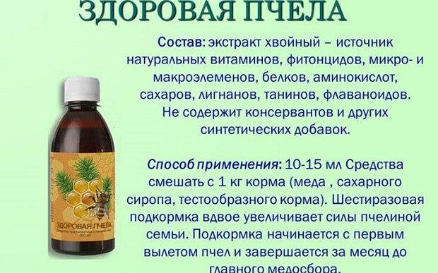 Здоровая пчела