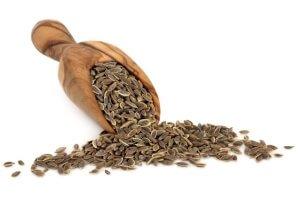 Сушеные семена укропа