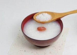 Рисовый отвар с фруктами