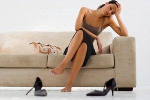 Отказ от обуви на высоком каблуке