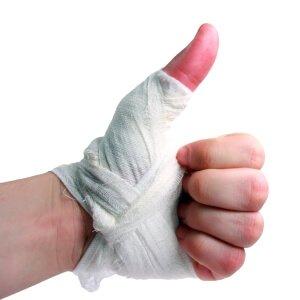 Рана на пальце руки