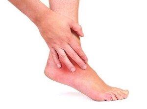 Боль в голеностопном суставе