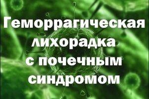 Геморрагическая лихорадка с почечным синдромом