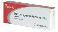 Препарат Нитрендипин