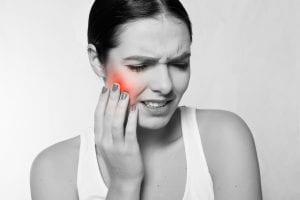 Дискомфорт в щеке от нерва