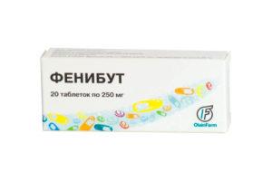 Лекарство Фенибут
