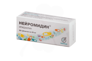 Лекарство Нейромидин